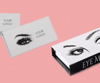 Custom printed Eyelash Boxes
