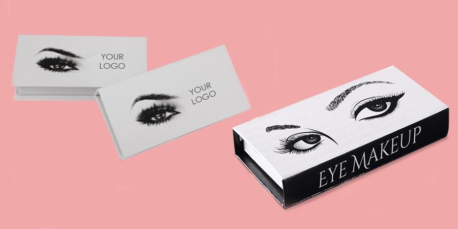 Custom printed Eyelash Boxes