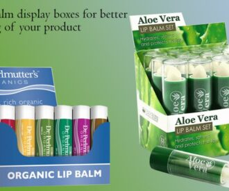 Lip Balm Display Packaging Boxes